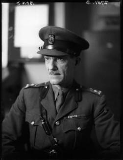 John Arthur Mallock Bond, by Walter Stoneman - NPG x163270