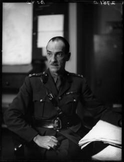 John Arthur Mallock Bond, by Walter Stoneman - NPG x163272