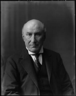 Alfred Tristram Lawrence, 1st Baron Trevethin, by Walter Stoneman - NPG x163303
