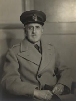 Sir Fabian Arthur Goulstone Ware, by Walter Stoneman - NPG x163364