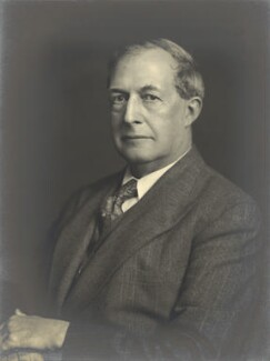 Sir Westcott Stile Abell, by Walter Stoneman, March 1940 - NPG x163383 - © National Portrait Gallery, London