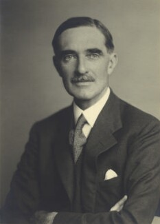Clarence Napier Bruce, 3rd Baron Aberdare, by Walter Stoneman, August 1943 - NPG x163388 - © National Portrait Gallery, London