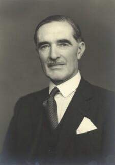 Clarence Napier Bruce, 3rd Baron Aberdare, by Walter Stoneman, 1953 - NPG x163389 - © National Portrait Gallery, London