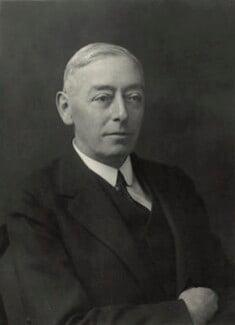 Sir Martin Arnold Abrahamson, by Walter Stoneman - NPG x163399
