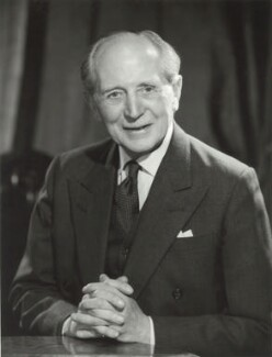 Sir Allan Henry Shafto Adair, by Walter Bird, 6 March 1967 - NPG x163405 - © National Portrait Gallery, London