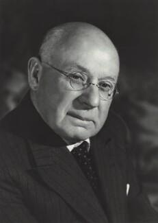 Sir Frank Ezra Adcock, by Walter Bird - NPG x163423
