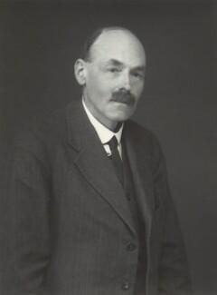 John Gellibrand Hubbard, 3rd Baron Addington, by Walter Stoneman - NPG x163424