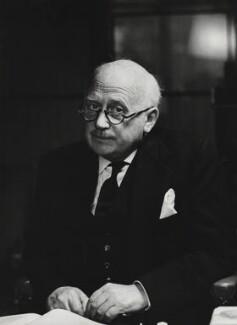 Michael Edward Adeane, Baron Adeane, by Godfrey Argent - NPG x163432