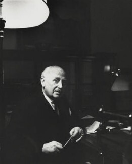 Michael Edward Adeane, Baron Adeane, by Godfrey Argent - NPG x163433