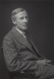 Edgar Douglas Adrian, 1st Baron Adrian, by Walter Stoneman - NPG x163435