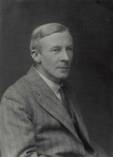 Edgar Douglas Adrian, 1st Baron Adrian, by Walter Stoneman, 1932 - NPG x163437 - © National Portrait Gallery, London
