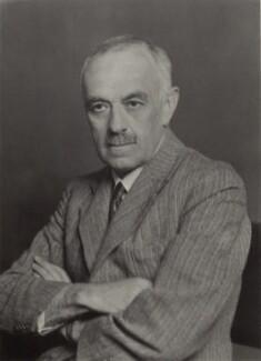 Wilfred Eade Agar, by Walter Stoneman, May 1935 - NPG x163441 - © National Portrait Gallery, London