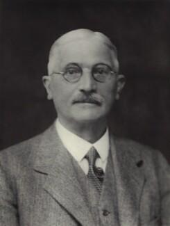 Sir Francis Arthur Aglen, by Walter Stoneman - NPG x163442