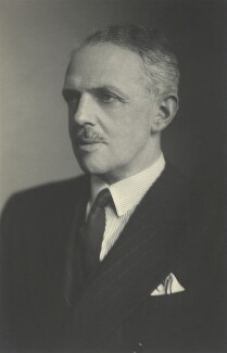 David Lyulph Gore Wolseley, 7th Earl Airlie, by Walter Stoneman, June 1945 - NPG x163448 - © National Portrait Gallery, London