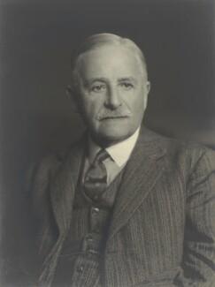 Sir Walter Galpin Alcock, by Walter Stoneman, January 1940 - NPG x163464 - © National Portrait Gallery, London