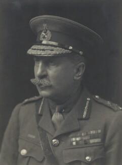 Sir Edwin Alfred Hervey Alderson, by Walter Stoneman, 1917 - NPG x163468 - © National Portrait Gallery, London