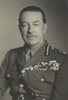 Harold Rupert Leofric George Alexander, 1st Earl Alexander of Tunis, by Walter Stoneman, November 1945 - NPG x163477 - © National Portrait Gallery, London