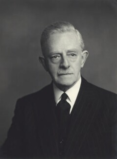 Sir Carleton Kemp Allen, by Walter Stoneman - NPG x163552