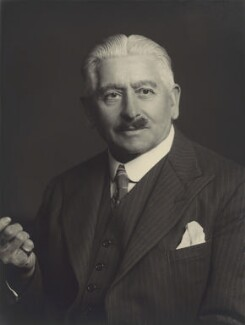 Sir Charles Carrick Allom, by Walter Stoneman, January 1940 - NPG x163574 - © National Portrait Gallery, London
