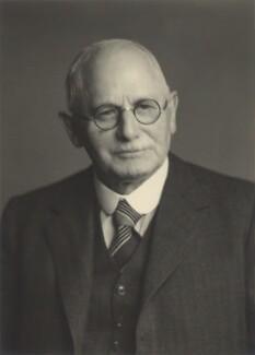 Sir David Anderson, by Walter Stoneman - NPG x163605