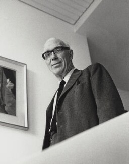 Sir Ove Arup, by Godfrey Argent, 25 April 1969 - NPG x163675 - © National Portrait Gallery, London