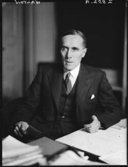 Sir John Charles Walton, by Walter Stoneman - NPG x163726