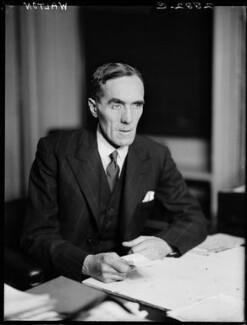 Sir John Charles Walton, by Walter Stoneman - NPG x163727