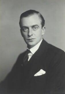 Hon. Michael Langhorne Astor, by Walter Stoneman - NPG x163762