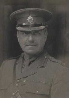 James Herbert Gustavus Meredyth Somerville, 2nd Baron Athlumney, by Walter Stoneman, 1918 - NPG x163766 - © National Portrait Gallery, London
