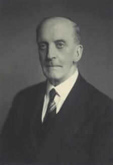 Sir Edward Hale Tindal Atkinson, by Walter Stoneman, November 1947 - NPG x163777 - © National Portrait Gallery, London