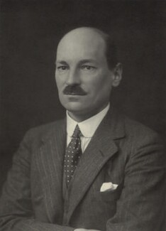 Clement Attlee, by Walter Stoneman, 1930 - NPG x163783 - © National Portrait Gallery, London