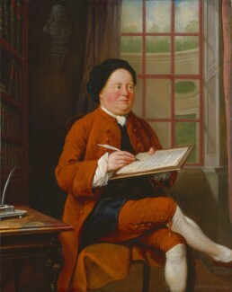 Samuel Richardson, by Mason Chamberlin - NPG 6435