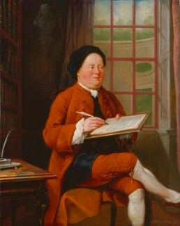 Samuel Richardson, by Mason Chamberlin, 1754 or before - NPG 6435 - © National Portrait Gallery, London