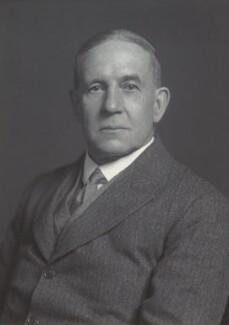 Sir Frank Morrish Baddeley, by Walter Stoneman - NPG x163799
