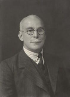 Sir Edward Battersby Bailey, by Walter Stoneman - NPG x163813