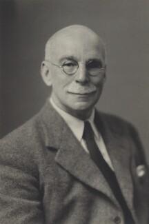 Sir Edward Battersby Bailey, by Walter Stoneman - NPG x163814