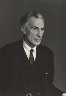 George John Gordon Bruce, 7th Baron Balfour of Burleigh, by Walter Stoneman - NPG x163848