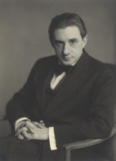 Sir John Barbirolli, by Walter Stoneman - NPG x163877
