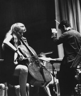 Jacqueline du Pré; Daniel Barenboim, by Godfrey Argent, 27 August 1969 - NPG x163881 - © National Portrait Gallery, London