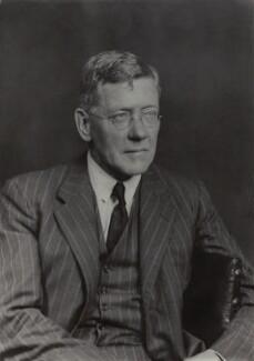 Sir (James) Alan Noel Barlow, 2nd Bt, by Walter Stoneman - NPG x163893