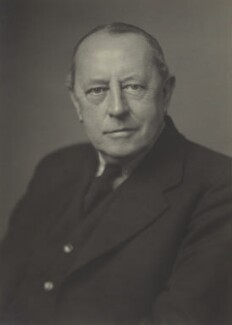Sir Kenneth Ralph Barnes, by Walter Stoneman, October 1943 - NPG x163907 - © National Portrait Gallery, London