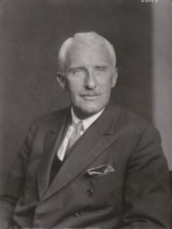 Archibald Vivian Hill, by Walter Stoneman - NPG x164370