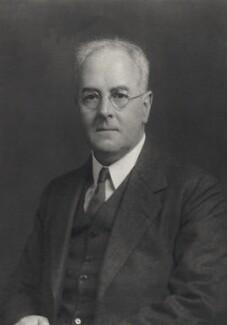 Lewis Fry Richardson, by Walter Stoneman - NPG x164373
