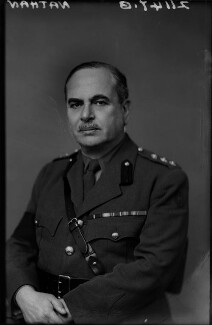 Harry Louis Nathan, 1st Baron Nathan, by Walter Stoneman, February 1943 - NPG x164676 - © National Portrait Gallery, London