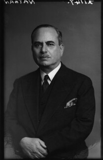 Harry Louis Nathan, 1st Baron Nathan, by Walter Stoneman, February 1943 - NPG x164680 - © National Portrait Gallery, London