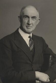 Sir (Arthur) Wilfrid Garrett, by Walter Stoneman - NPG x164684