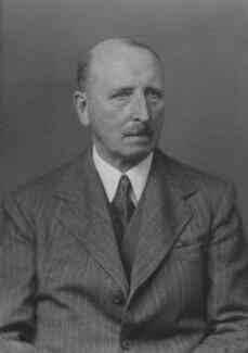 Sir Edmund Ivens Spriggs, by Walter Stoneman - NPG x164692