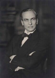 Archibald Henry Macdonald Sinclair, 1st Viscount Thurso, by Walter Stoneman - NPG x164770