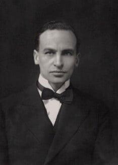 Archibald Henry Macdonald Sinclair, 1st Viscount Thurso, by Walter Stoneman - NPG x164771