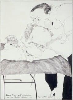 Henry Cooper, by Gerald Scarfe - NPG 6429